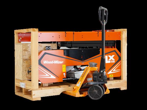 LX50 Sawmill on Pallet