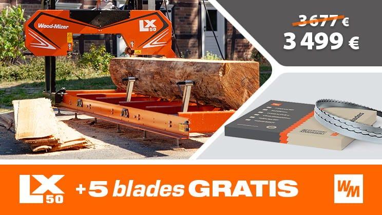 Wood-Mizer LX50 Sawmill